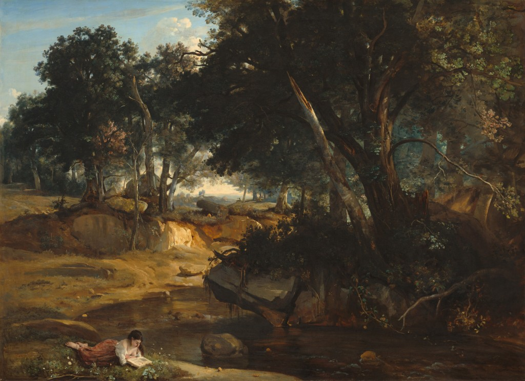 The Forest of Fontainbleau, 1834 Jean-Baptiste-Camille Corot National Gallery of Art